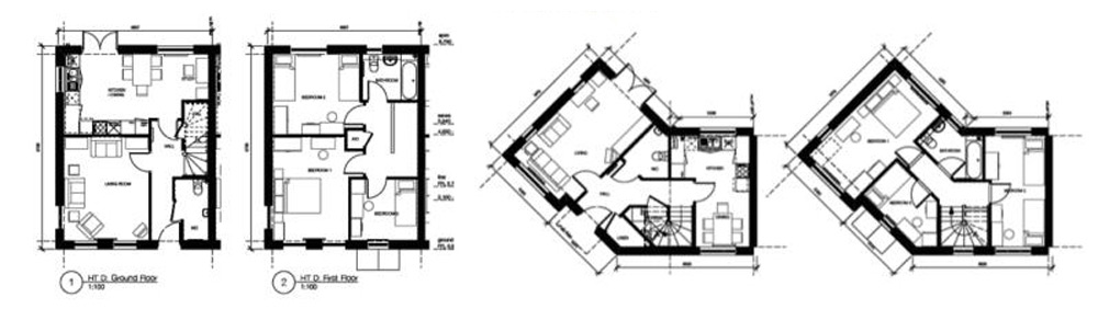 Typical house plans