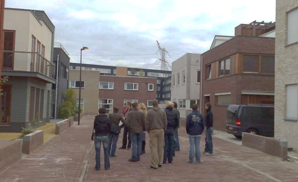 The members of the group visited other similar projects in the Netherlands