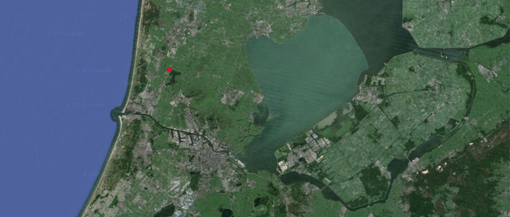 The village of Akersloot is approximately 35 km north-west of Amsterdam