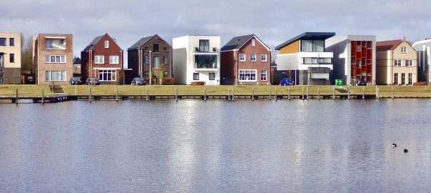 Almere waterside houses