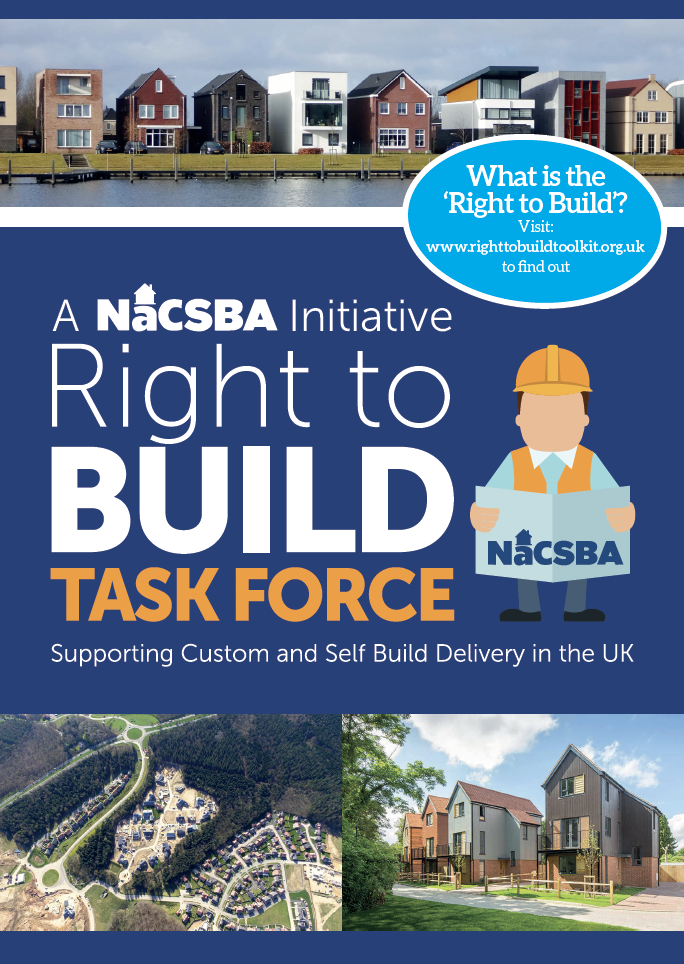 Right to Build Task Force flyer